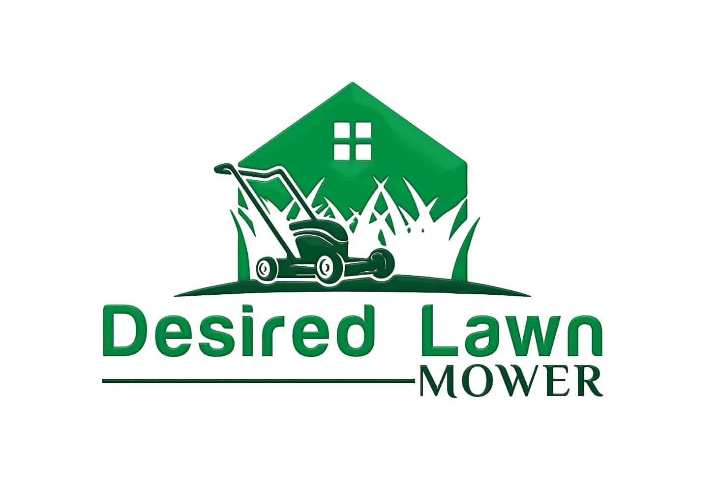 Desired lawn mower